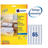 AVERY INKJET LABEL 8 SHEET PK25