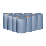 MINI CENTREFEED ROLL 1PLY BLUE