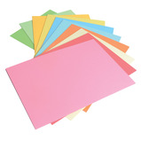 Assorted Brite And Pastel Card