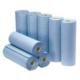 LARGE BLUE TOWEL ROLL BOX 12