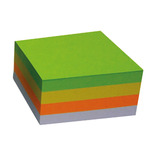 STICKY NOTES CUBE 76X76MM HARMONY