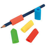 PENCIL GRIPS TRIANGULAR STD SZ PK10