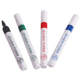 VALUE DRYWIPE MARKERS PK10 BLACK