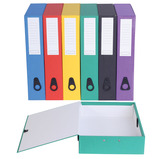 Value Coloured Box Files