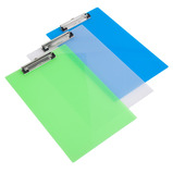 RAPESCO CLIPBOARD FROSTED ASSTD PK10