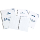 VALUE SPIRALBOUND NOTEBOOKS A5 PK6