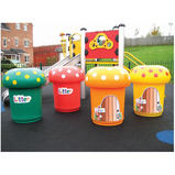 MROOM BIN LITTER GRAPHIC YELL 90LTR