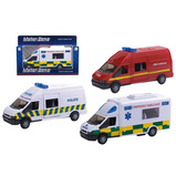 1:48 DIECAST EMERGENCY VEHICLE