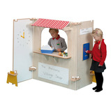 PANEL SUPERMARKET STALL SET MAPLE