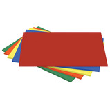 A4 ASSORTED BRIGHT THIN BOARD PK 100