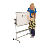 Mobile Tilt 'N' Teach Whiteboards