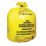 Incineration Clinical Waste Sacks