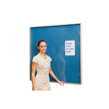 ColourTex Aluminium Lockable Noticeboards