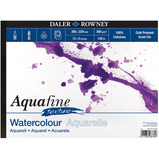 WATERCOLOUR PAD SQUARE AQUAFINE EACH