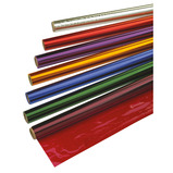 COLOURED CELLOPHANE 500MMX4.5M PK10