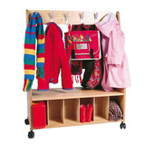 COTTAGE C/ROOM TROLLEY (WOODEN)