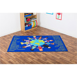 MULTICULTURAL WELCOME CARPET 2X1.3M