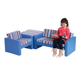 STRIPE CORNER SEATING SET