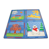 Seasons Square Mat