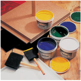 LINOTEX PRINTING INKS ASST 6 x 250ML