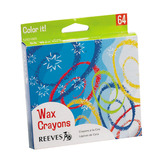 REEVES CRAYONS BOX 64 ASSTD