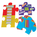 JUMBO DISPLAY JIGSAW PIECES PK20