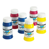 System 3 Acrylic Process Colours Paint Pack