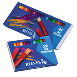 REEVES OIL PASTEL BOX 24