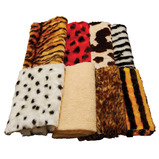 ANIMAL FUR FABRIC PACK 8X30CMX150CM