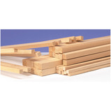SQUARE SECTION WOOD 6MM PK100