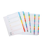 Extra Wide A4 Index Dividers
