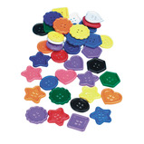 COLOSSAL BUTTONS ASSTD COLOURS PK130