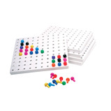PEGBOARDS & PEGS PACK OF 5