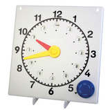 7 Faces Large Teaching Clock