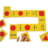 GIANT NUMBERS & SHAPES DOMINOES