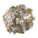 Gold and Silver Gummed Stars