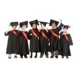 GRADUATION GOWNS - PK10 3/5YRS BL