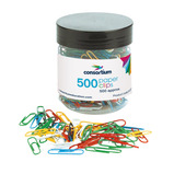 The Consortium Multi-Coloured Paper Clips