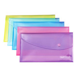 Rapesco Bright A5 Popper Wallets