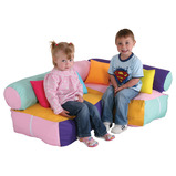 PASTEL CORNER SOFT SEATING UNIT