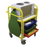 SMALL COOKING TROLLEY