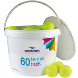 Value Tennis Ball Bucket
