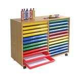 ART STORAGE UNIT 24TRAY A1