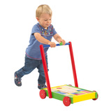 Baby Walker with Wooden Blocks