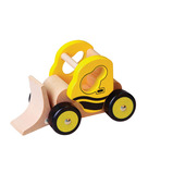 Wooden Bulldozer Vehicle