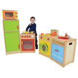 HARDWOOD KITCHEN SET - 5 PIECE