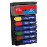 BEROL DRYWIPE BOARD SET