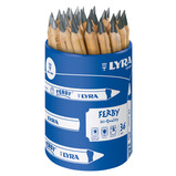 LYRA GRAPHITE PENCILS TUB OF 36
