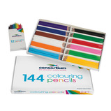 CONSORTIUM COLOUR PENCILS PK144