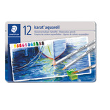 STAEDTLER WATERCOLOUR PENCILS TIN 24